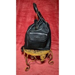 Pattie Jarrell Leather Handbag Unique Design Black